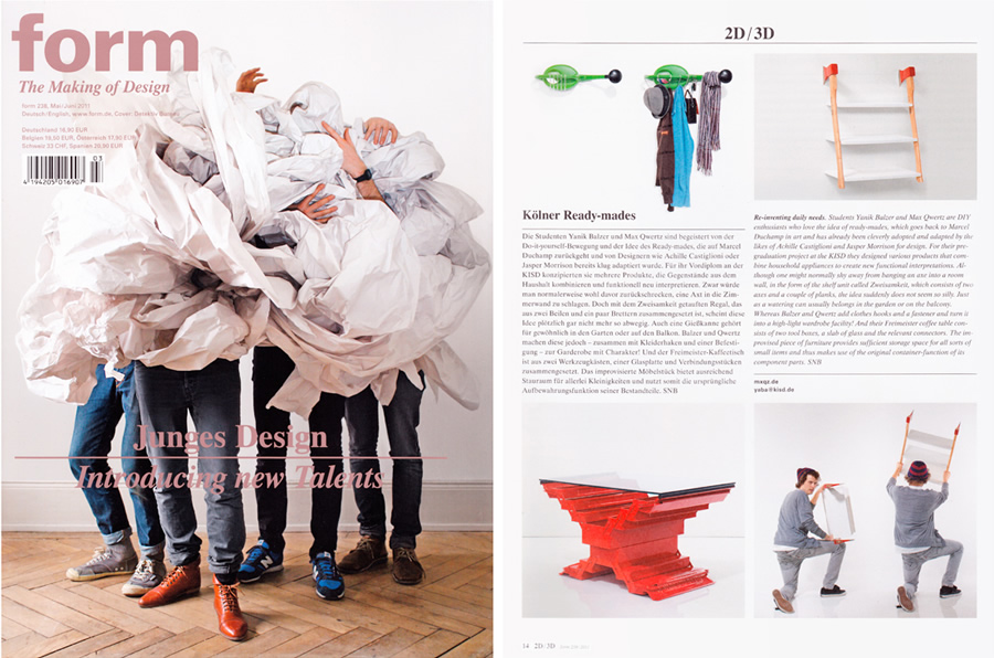 Form Magazine, Issue 238 – Introducing new talents
